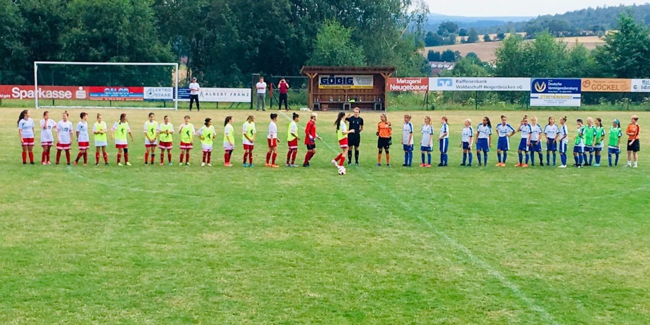 Testspiel gegen den 1. FFC Frankfurt