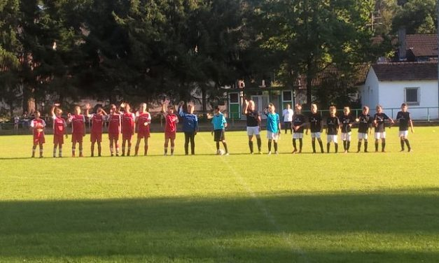 U13: Testspiel in Stockstadt