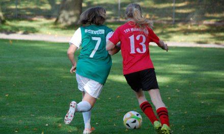 D-Mädels: Der 1. FC Schweinfurt war noch eine Nummer zu groß