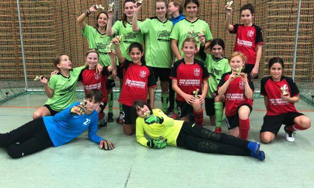 D-Mädels: Tolle Leistungen beim Süwag-Cup