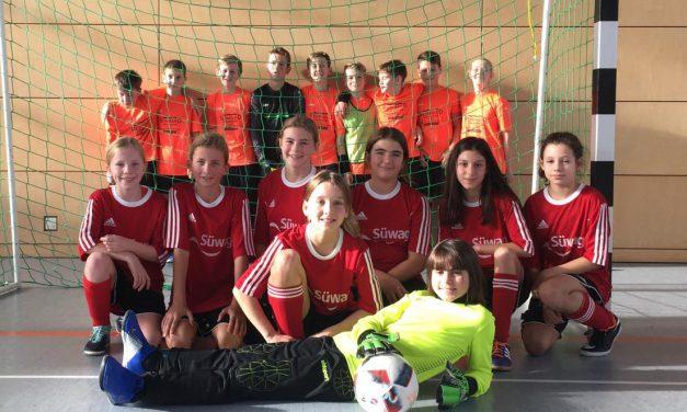 D-Mädels: Erster Futsal-Test