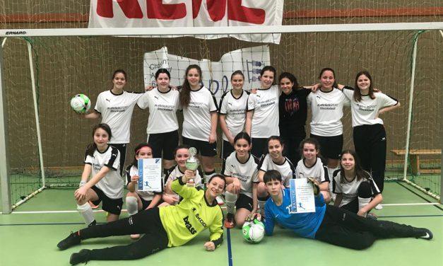 C-Mädels: Turniersiegerinnen in Großwallstadt