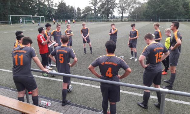 U17 Junioren: Spannendes Test-Rückspiel gegen Alemannia Haibach