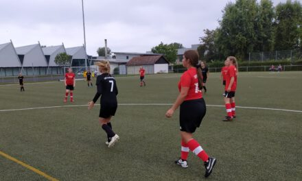 D-Mädels: Vorbereitungsspiel in Großostheim