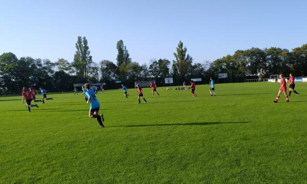 D- gegen C-Mädels: Testspiel