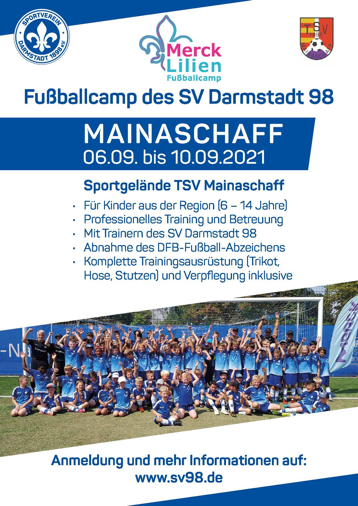 *** Fußball Camp von Darmstadt 98 ***