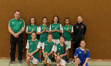 1. FC Schweinfurt gewinnt SÜWAG-Hallencup der D-Juniorinnen