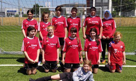 Neue C-Juniorinnen: Erstes Vorbereitungsspiel in Großwallstadt