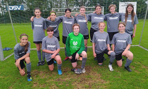 Neue C-Juniorinnen: Erstes Testspiel gegen Jungs klar gewonnen