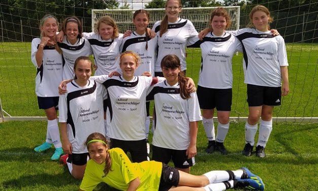 Neue C-Juniorinnen: Neue Spielerinnen nutzen Ihre Chance