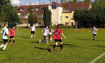 Neue C-Juniorinnen: Testspielsieg gegen hessische B-Juniorinnen
